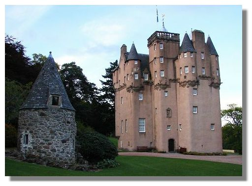 The Real Castle Blackwood (in Scotland)
