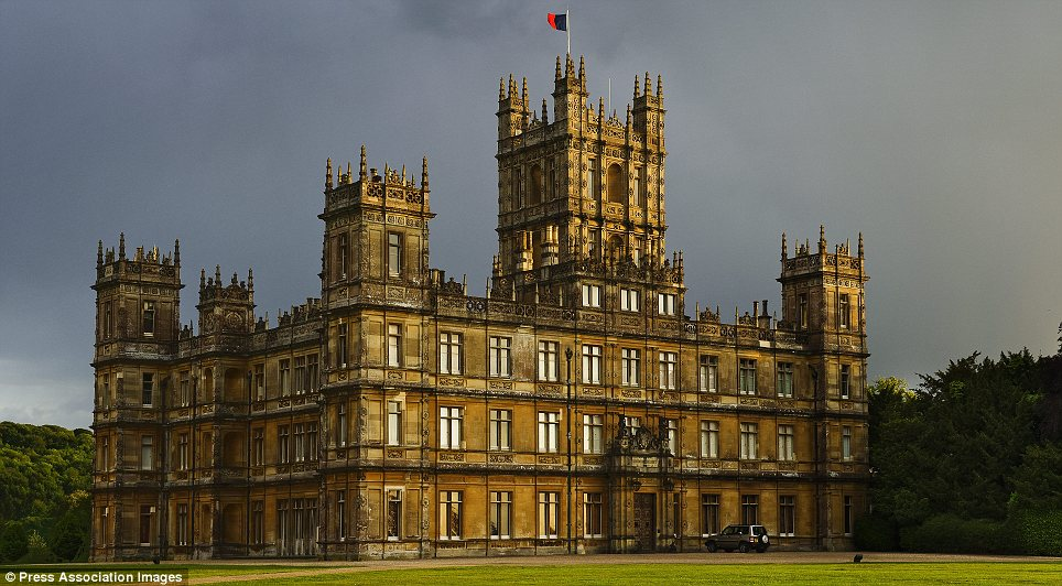The downton abbey walking dead a mash up idea from a guy for Old homes for sale in england
