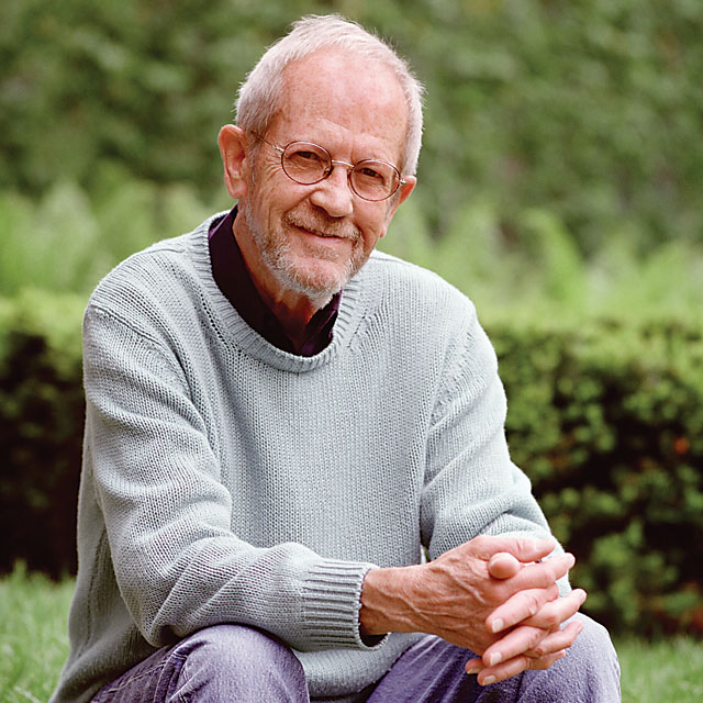 And Elmore Leonard. If you don't listen to him, I might drive to your house. With Elmore riding shotgun.