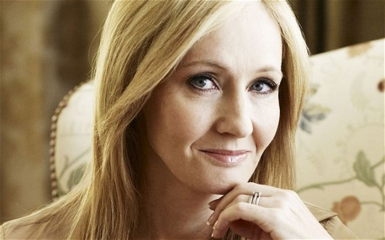 J.K. Rowling? Yeah, you BETTER listen to her.