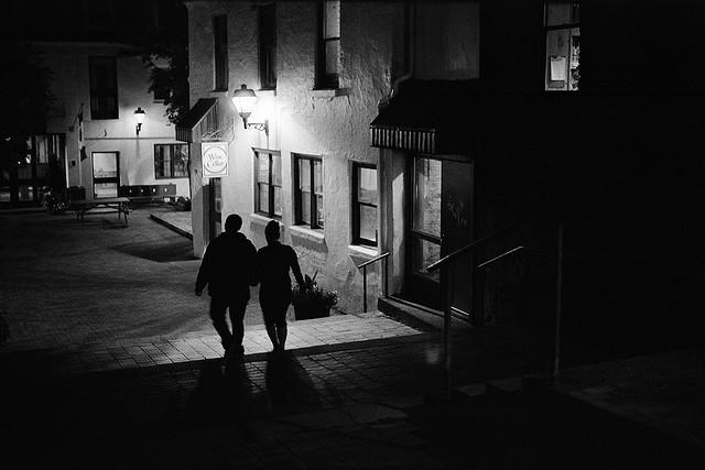 Walking-at-Night