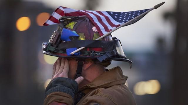 APTOPIX Sept 11 America Remembers