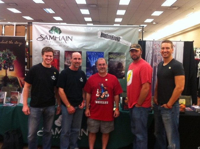 Brian Moreland, Russell James, John Everson, Kristopher Rufty, and Me