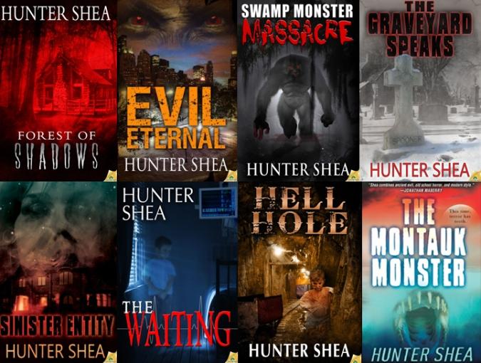Hunter Shea Covers - 2 rows