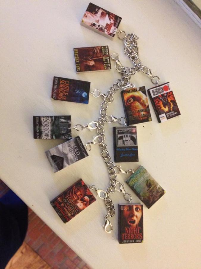 Book Covers in Bracelet Form